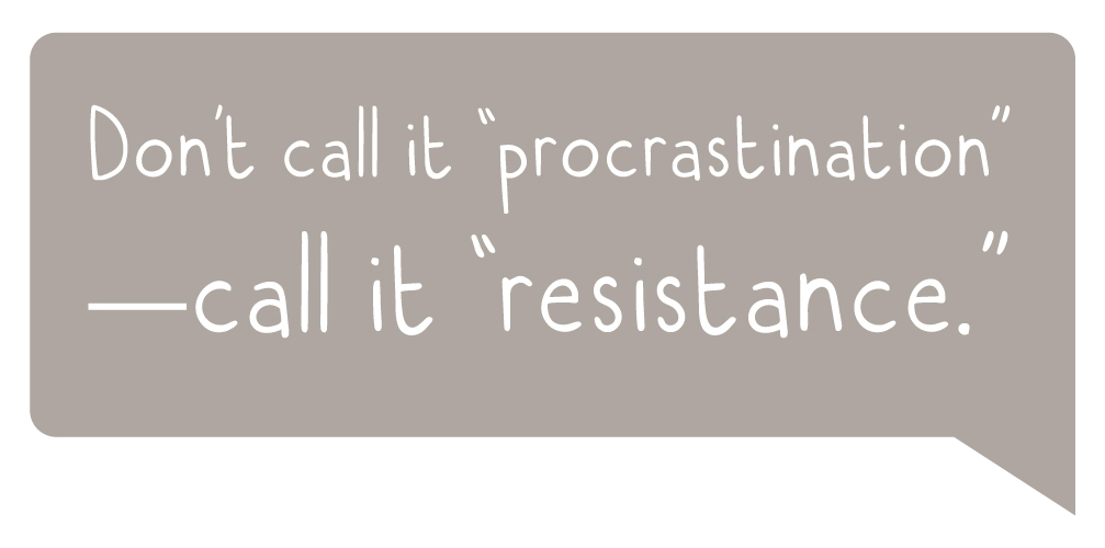 CreativeConfidence-Procrastination